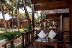 Agonda Diva AC Garden View Villas Balcony Agonda Beach South Goa
