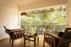Crystal Goa Emerald Edition Superior King Room Balcony View Patnem Beach South Goa