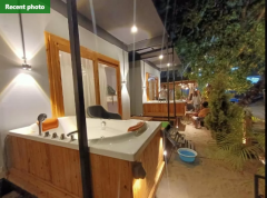 AC Sea Facing Cottages With Jacuzzi