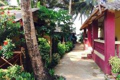 Salida Del Sol AC Cottage Room Patnem Beach South Goa.