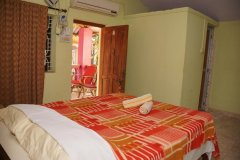 Salida Del Sol AC Cottage Room Bedroom View Patnem Beach South Goa.