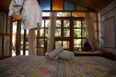 Salida Del Sol AC Garden View Hut Bedroom Patnem Beach South Goa.