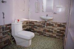 Salida Del Sol AC Garden View Hut Bathroom Patnem Beach South Goa.