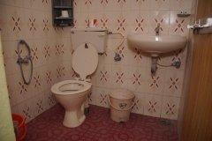Salida Del Sol AC Cottage Room Bathroom Patnem Beach South Goa.