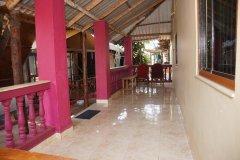 Salida Del Sol AC Cottage Room Balcony Patnem Beach South Goa.