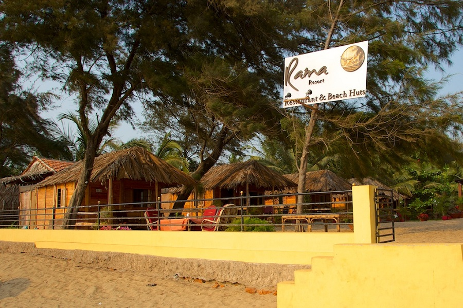 Rama Resort in agonda beach is a Goa beach resort designed wooden