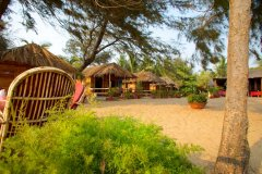 Rama Resort Agonda Beach, Goa - Resort Beach Huts -