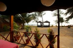 Rama Resort Agonda Beach, Goa - Wooden Huts Balcony View -