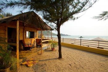 Rama Resort Agonda Beach, Goa - Wooden Huts -