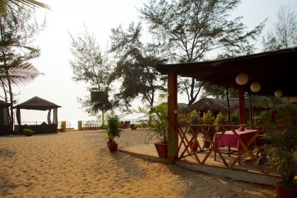 Rama Resort Agonda Beach, Goa - Restaurant Resort -