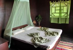 Shanti Village - The interior of one of the villas at Shanti Village in Agonda Beach, Goa