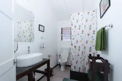 Art Resort Cottages Bathroom View Palolem Beach Goa