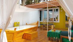 Art Resort View Of Prive Garden View Cottage Palolem Beach Goa