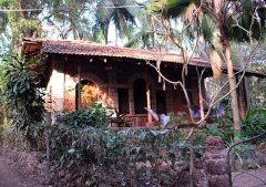 Bhakti Kutir  - A cabana at Bhakti Kutir in Colomb Bay, Goa