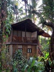Bhakti Kutir  - One of the individually designed cabanas at Bhakti Kutir in Colomb Bay, Goa