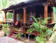 Casa Fiesta Resort  - A garden hut at Casa Fiesta on Patnem Beach, Goa