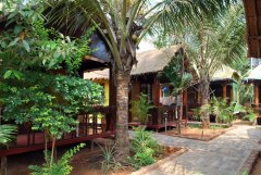 Casa Fiesta Resort  - The garden rooms at Casa Fiesta in Patnem Beach, Goa