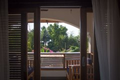 Dunhill Resort Agonda Beach Upper Luxury Courtyard Annex Room View From The Bedroom -