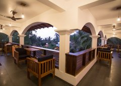 Dunhill Resort Agonda Beach Upper Luxury Courtyard Annex Room Balcony View