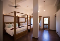 Dunhill Resort Agonda Beach Upper Luxury Family Courtyard Annex Room