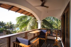 Dunhill Resort Agonda Beach Upper Luxury Family Courtyard Annex Room Balcony
