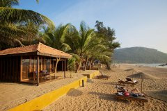 Dunhill Resort Agonda Beach Luxury Beach Cabanas Waterfront