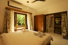 Dunhill Resort Agonda Beach Luxury Family Room Bedroom 1
