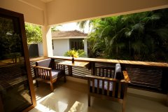 Dunhill Resort Agonda Luxury Family Room Balcony View