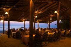 Dunhill Resort Agonda Beach Restaurant View
