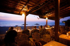 Dunhill Resort Agonda Beach Sunset View From Restaurant