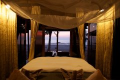 Dunhill Resort Agonda Beach Luxury Beach Cabanas Waterfront Bedroom View
