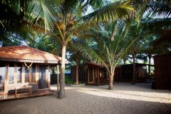 Dunhill Resort  Agonda Beach Luxury Beach Cabanas Back Row