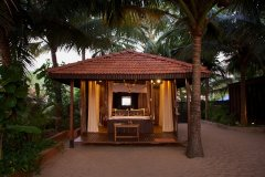 Dunhill Resort Agonda Beach Luxury Cabanas Back Row