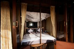 Dunhill Resort Agonda Beach Luxury Back Row Cabanas Bedroom -