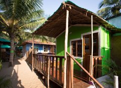 Funtastic Resort Patnem Beach Sea View Beach Hut