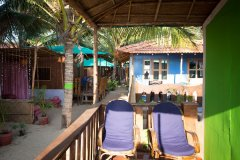 Funtastic Resort Patnem Beach Sea View Beach Hut Balcony