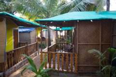 Funtastic Resort Patnem Beach Garden View Beach Huts -