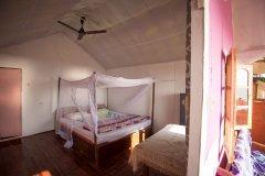 Funtastic Resort Patnem Beach, Beachfront Hut Bedroom -