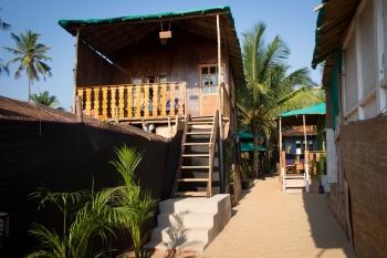 Funtastic Resort Patnem Beach Sea View Beach Hut -