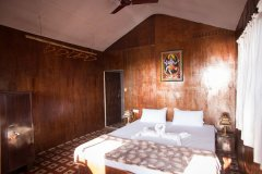 Funtastic Resort Patnem Beach Sea View Beach Hut Bedroom -