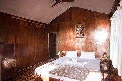 Funtastic Resort Patnem Beach Sea View Beach Hut Bedroom -
