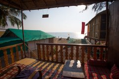Funtastic Resort Patnem Beach Sea View Beach Hut Balcony View -