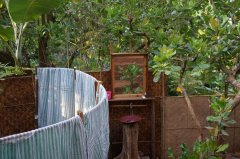 Khaama Kethna Jungle Resort Bathroom Agonda Beach South Goa