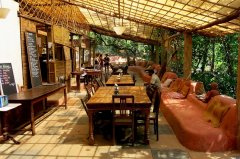 Khaama Kethna Jungle Resort Restaurant Agonda Beach South Goa