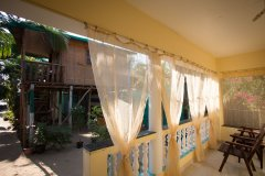 Namaste Resort Patnem Beach Deluxe AC Room View From The Balcony -
