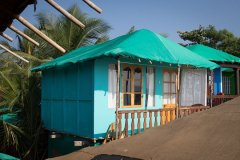 Namaste Resort Patnem Beach Sea View Hut