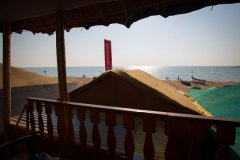 Namaste Resort Patnem Beach Sea View Hut Balcony View -
