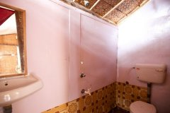 Tantra Cafe and Huts Patnem beach Coconut Beach Hut Bathroom -