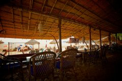 Tantra Cafe and Huts Patnem beach Restaurant View -