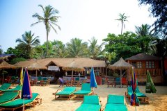 Tantra Cafe and Huts Patnem beach -